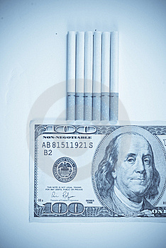 The Costs Of A Smoking Habit Royalty Free Stock Photo - Image: 17602795