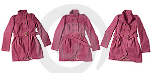 пинк пальто Стоковое Изображение RF - изображение: 17603636