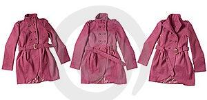 Pink Coat Royalty Free Stock Image - Image: 17603636