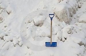 Snow Shovel Stock Photography - Image: 17604302