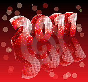 Disco Style New Year Stock Photo - Image: 17604480