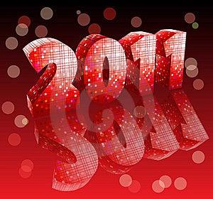 Disco Style New Year Stock Photo - Image: 17604480