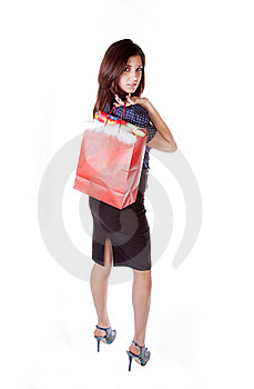 Looking Over Shoulder Royalty Free Stock Image - Image: 17605846