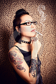 Tattoo Princess Stock Images - Image: 17608994