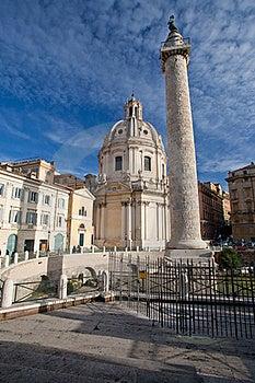 Trajan's Column Royalty Free Stock Image - Image: 17615806