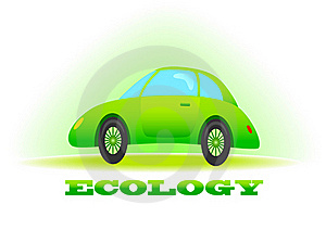 Ecological Car Royalty Free Stock Photos - Image: 17617918