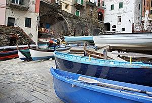 Riomaggiore Stock Image - Image: 17618991