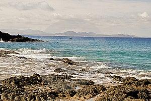 Lanzarote's Coastline Royalty Free Stock Photos - Image: 17623198