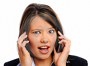 Busy Businesswoman Stock Photography - Image: 17623372