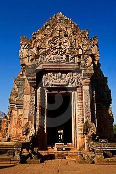 Phanom Rung National Park At Thailand Stock Image - Image: 17623571