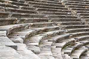 The Ancient Amphitheater Royalty Free Stock Photography - Image: 17624197
