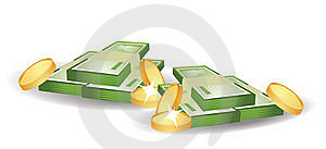 Money And Dollars Stock Images - Image: 17626564