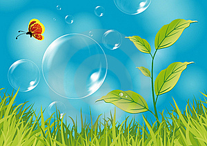 Nature Illustration Royalty Free Stock Images - Image: 17630069