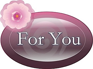 For You Label Royalty Free Stock Photo - Image: 17630405