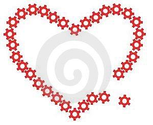 Mechanic Heart Royalty Free Stock Photos - Image: 17630988