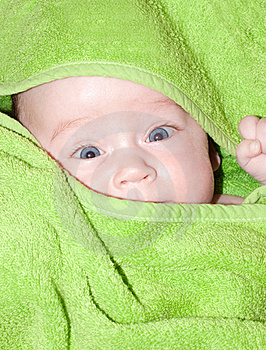 A Photo Of A Baby Girl. Stock Image - Image: 17631581