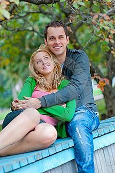 Beautiful Young Couple Relaxing Stock Photos - Image: 17634093