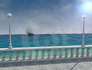Frigate Royalty Free Stock Photography - Image: 17634127