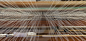 Weaving Machine Royalty Free Stock Photography - Image: 17634517