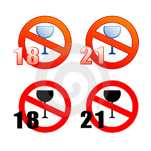No Alcohol Stock Photo - Image: 17636870