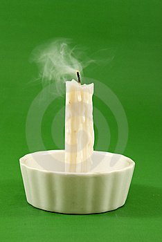 Unlit Candle Royalty Free Stock Photography - Image: 17638057