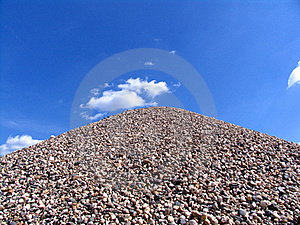 Hill Of Stones Stock Photos - Image: 17638413