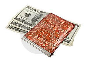 Bank-note And Purse Royalty Free Stock Images - Image: 17641049