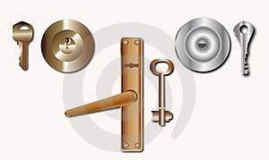 Key And Keyhole Stock Photos - Image: 17643483