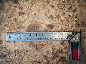 Steel Angle Tool Royalty Free Stock Photography - Image: 17644017
