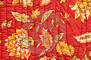 Quilted Bedspread Stock Photography - Image: 17644092