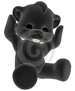 Black Plush Toy Royalty Free Stock Photo - Image: 17646045