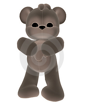 Grey Toy Teddy Bear Stock Images - Image: 17646074