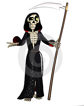 Toon Reaper Stock Photo - Image: 17646160