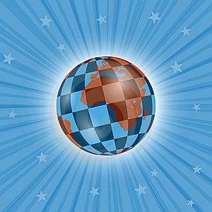Planetary Chessboard Stock Photography - Image: 17649422