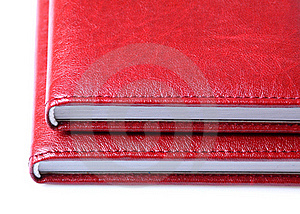 Two Red Books Stock Photography - Image: 17651952