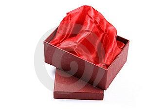 Satin Cloth Gift Box Royalty Free Stock Images - Image: 17652909