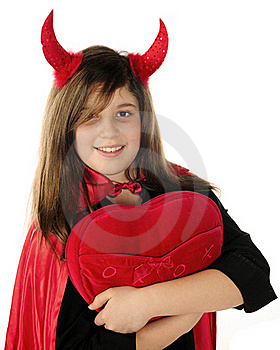Devil Heart-Thief Stock Images - Image: 17653204