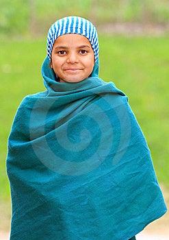 Cute Muslim Girl Royalty Free Stock Photo - Image: 17653515