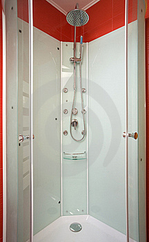 Bathroom Cabin Royalty Free Stock Images - Image: 17653909