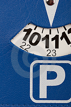 Parking Card Stock Photo - Image: 17654420