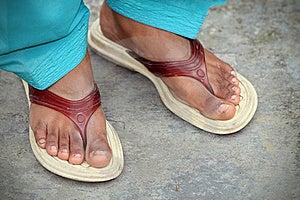 Indian Women Feet Royalty Free Stock Image - Image: 17654456