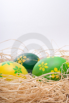 Hand Painted Easter Eggs Stock Image - Image: 17658731