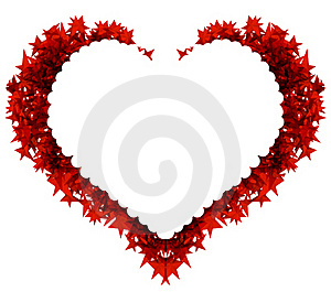 Heart Spiky Sharp.Super Happy Royalty Free Stock Photography - Image: 17661007
