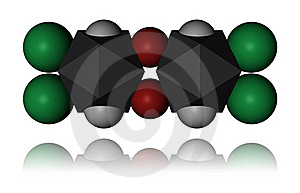 Dioxin - Molecule Stock Photography - Image: 17663662