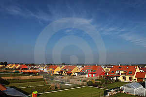 Houses In The Suburbs Stock Images - Image: 17663844