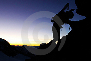 Mountain Ascent Royalty Free Stock Images - Image: 17663859