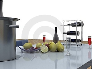 Rendering Objects Royalty Free Stock Photos - Image: 17664148