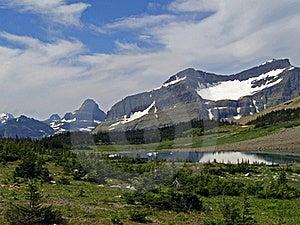 Lake And Mountains #1 Royalty Free Stock Photos - Image: 17666098