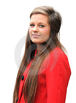 Red Coat Royalty Free Stock Photos - Image: 17668388
