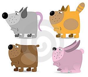 Domestic Animals Set Stock Photography - Image: 17669062